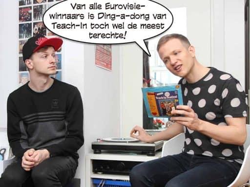 """Ype: """"Van alle Eurovisie-winnaars is Ding-a-dong van Teach-In toch wel de meest terechte!"""""""